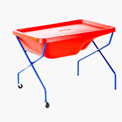 Sand and Water Tray Rock Pool Red,Sand and Water Tray ,Sand and Water Tray with Lid,childrens water tray table,childrens sand and water tray table,school water table,sensory play table